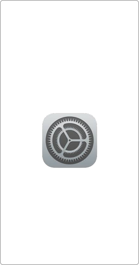 iPhone App Icon Einstellungen