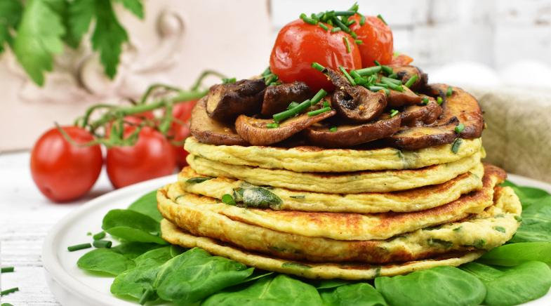 Deftige Low Carb Pancakes