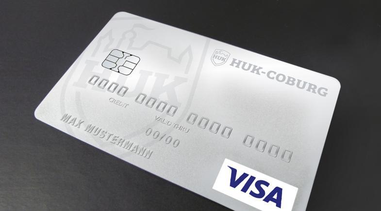 Postbank Kreditkarte Visa Card Huk Coburg
